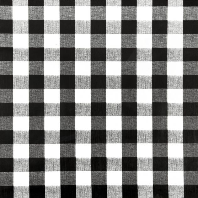 Country Style New Table Cloth  Black Gingham  Tablecloth Assort. Size New  Cotton