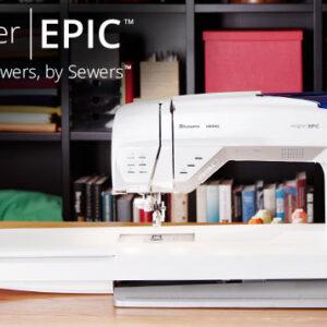 Husqvarna Viking Designer Epic Sewing Quilting & Embroidery Machine