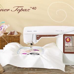 Husqvarna Viking Topaz 40, Sewing & Embroidery Machine NEW