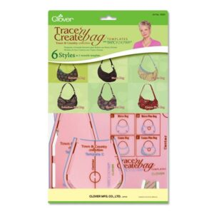 Clover Trace n Create Bag Templates by Nancy Zieman, Town & Country Collection New
