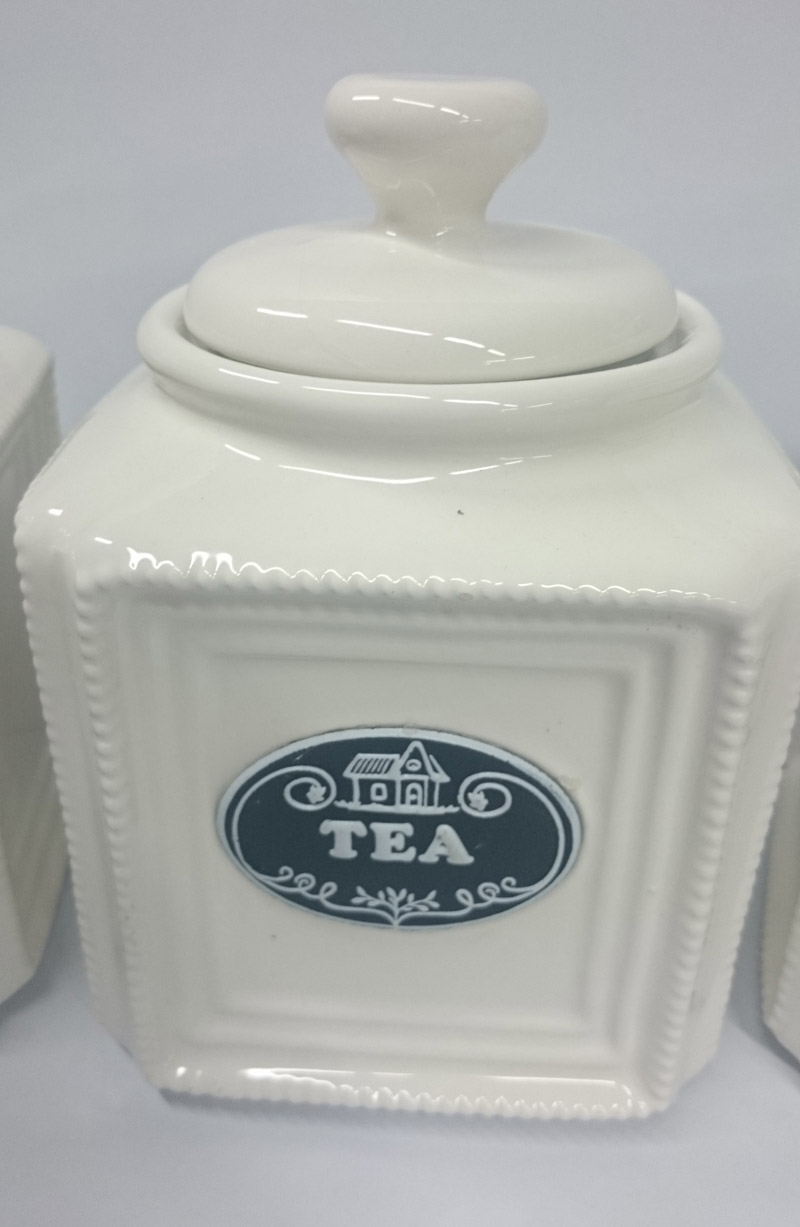 french country elegant kitchen canisters tea coffee sugar black