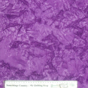 Quilting Patchwork Cotton Sewing Fabric BATIK AMETHYST PURPLE 50x55cm FQ NEW Material