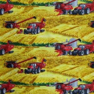 Quilting Patchwork Cotton Sewing Fabric FARMALL TRACTOR FARM 50x55cm FQ NEW www.somethingscountry.com