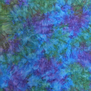 Quilting Patchwork Cotton Sewing Fabric BATIK PURPLE BLUE GREEN 50x55cm FQ NEW www.somethingscountry.com