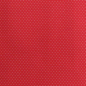 Quilting Patchwork Cotton Sewing Fabric MICRO SPOTS RED 50 x 55cm FQ NEW www.somethingscountry.com.au
