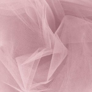 Wedding Dancing Tutu TULLE, Pink Very Soft & Fine Polyester Tuile 1m x 150cm New