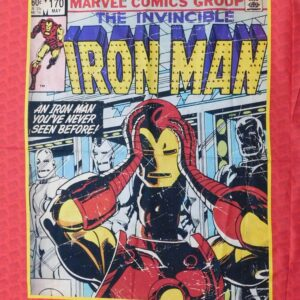 Patchwork Quilting Sewing Fabric MARVEL IRON MAN Panel 90x110cm New Material