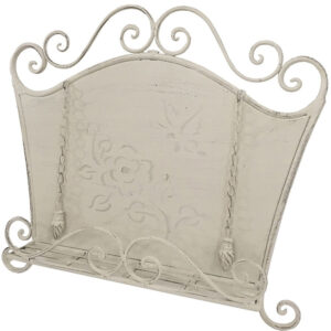 French Country Vintage Inspired Kitchen CREAM FLAIR Recipe Book Holder Wrought Iron New