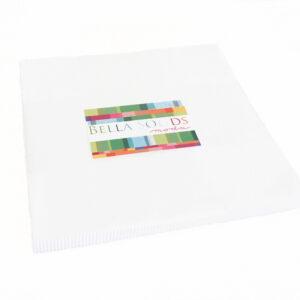 MODA Layer Cake BELLA WHITE Quilt 10inch squares Quilting Fabric NEW FREEPOST