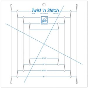 Quilting Patchwork Sewing Template June Tailor – Twist n Stitch Ruler New