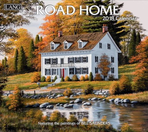 2018 Lang Calendar ROAD HOME New Wall Calender Fits Wall Frame FREEPOST Collectable