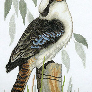 Country Threads Fiona Jude Cross Stitch Kit KOOKABURRA Counted X Stitch NEW incl Thread