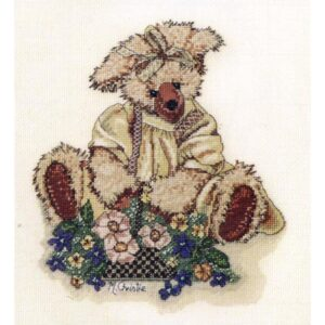 DMC Cross Stitch Kit VINTAGE BEARS BUTTERCUP X Stitch NEW incl Thread KIT