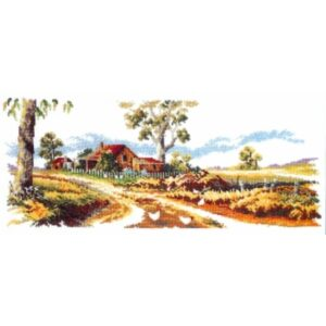 Country Threads Cross Stitch Counted X Stitch Pattern GUM TREE LANE New FJ-1001