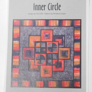 Quilting Sewing Quilt Pattern INNER CIRCLE Patchwork Pattern NEW