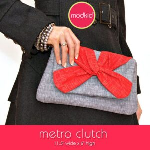 Quilting Sewing Bag Pattern METRO CLUTCH by Modkid NEW