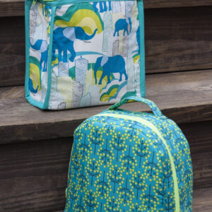 Pattern PEAS AND CORN LUNCH BAGS by Sew Sweetness