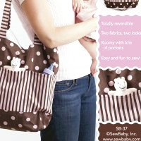 Quilting Sewing Nappy Bag Pattern DOUBLE DUTY BAG by Sew Baby NEW