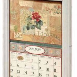 2016-Lang-Legacy-Calendar-Frame-Wooden-Scroll-White-New-Display-your-calender-161982268600