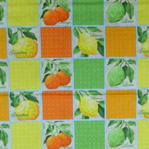 CITRUS-GROVE-Orange-Country-Patchwork-Quilting-Fabric-Cotton-Material-FQ-50X55cm-161845317810