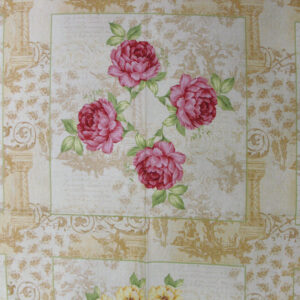 COUNTRY-CHIC-QUALITY-100-cotton-Quilting-fabric-roses-flower-vintage-panels-160786280560