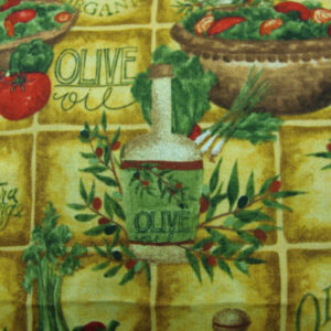 COUNTRY-FABRIC-OLIVES-COOKING-OIL-TUSCAN-FRESH-NEW-FQ-160482497918