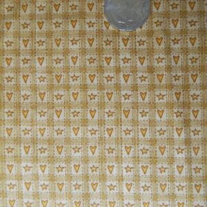 COUNTRY-QUILTING-FABRIC-Country-Hearts-Fat-Quarter-50x55cm-New-161085064080