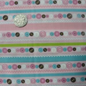 COUNTRY-QUILTING-FABRIC-Cute-as-a-Button-allover-fabric-blue-FQ-50x55cm-111011084473