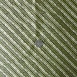 COUNTRY-QUILTING-FABRIC-Green-Diaganol-stripes-FQ-50x55cm-Newalso-per-meter-161044852447