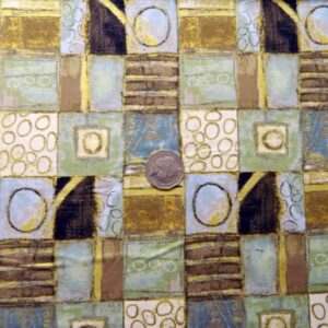 COUNTRY-QUILTING-FABRIC-Urban-Ritual-allover-squares-design-FQ-50x55cm-161173179666