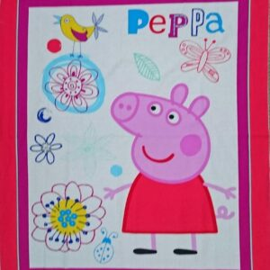 Country-Patchwork-Quilting-Fabric-PEPPA-PIG-NEW-Sewing-Material-Panel-90x110-cm-111992349649
