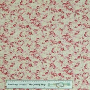 Country-Patchwork-Quilting-Fabric-Pale-Pink-Rose-Buds-Cotton-Sewing-50x55cm-161629158435