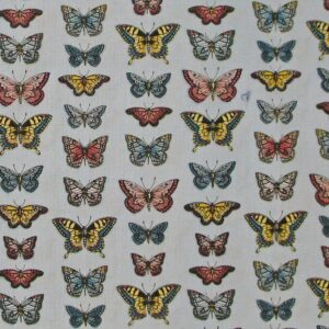 Country-Patchwork-Quilting-Fabric-VINTAGE-JOURNAL-BUTTERFLY-Sewing-FQ-50x55CM-161967038222