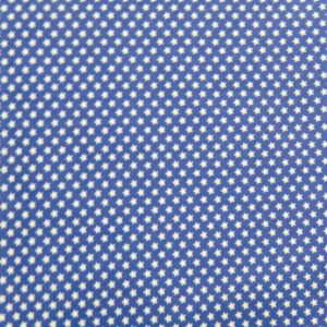 Country-Patchwork-Quilting-Sewing-Fabric-BLUE-WITH-WHITE-STARS-FQ-50x55cm-NEW-161986534531
