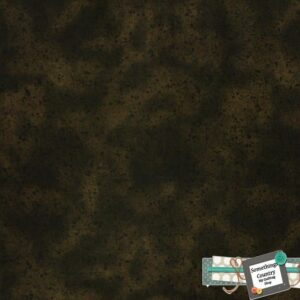 Country-Patchwork-Quilting-Sewing-Fabric-DARK-BROWN-SPECKLES-Allover-FQ-50x55cm-111914867356