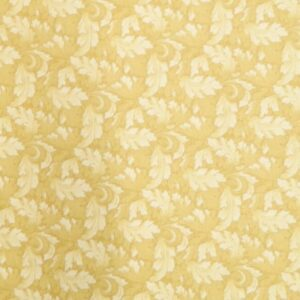Country-Patchwork-Quilting-Sewing-Fabric-MUMS-LEAVES-GoldYellow-FQ-50x55CM-NEW-161986457163