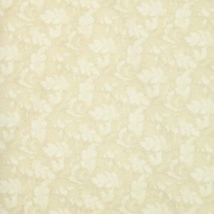 Country-Patchwork-Quilting-Sewing-Fabric-MUMS-LEAVES-Rose-Cream-FQ-50x55CM-NEW-161986456807