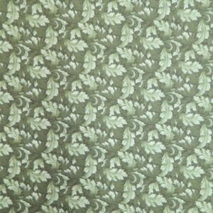 Country-Patchwork-Quilting-Sewing-Fabric-MUMS-LEAVES-Rose-Green-FQ-50x55CM-NEW-161986456290