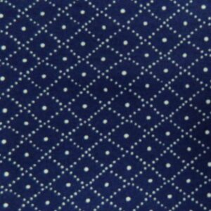 Country-Patchwork-Quilting-Sewing-Fabric-NAVY-WHITE-CROSS-HATCH-FQ-50x55cm-NEW-161986551493