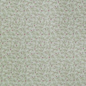 Patchwork Quilting Sewing Fabric POPPY Beige Green Floral FQ 50x55cm New Material