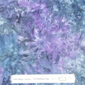 Country-Patchwork-Quilting-Sewing-Fabric-PURPLE-GREY-BATIK-FQ-50x55cm-NEW-162028889687