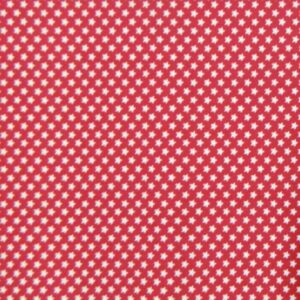 Country-Patchwork-Quilting-Sewing-Fabric-RED-WITH-WHITE-STARS-FQ-50x55cm-NEW-161986533976