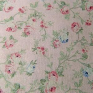 Country-Patchwork-Quilting-Sewing-Fabric-SPRING-ROMANCE-Rosebuds-Pink-FQ-50x55cm-161987477579