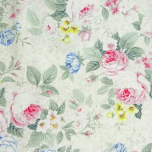 Country-Patchwork-Quilting-Sewing-Fabric-SPRING-ROMANCE-Roses-Allover-FQ-50x55cm-161987478257