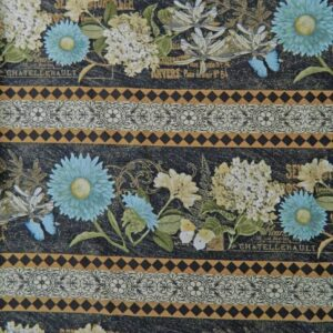Country-Patchwork-Quilting-Vintage-Garden-Floral-Borders-Sewing-50x55-FQ-New-111724133398