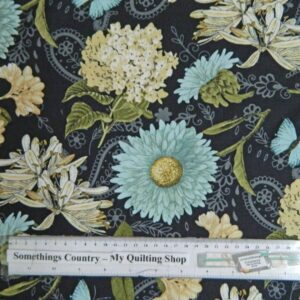 Country-Patchwork-Quilting-Vintage-Garden-Floral-Flowers-Sewing-50x55-FQ-New-111724132695
