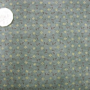 Country-Quilting-Cotton-Sewing-Fabric-Buttons-Blooms-Grey-FQ-50x55cm-New-110953434433
