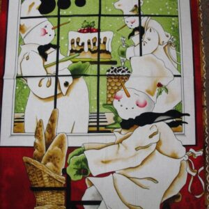 Country-Quilting-Cotton-Sewing-Fabric-Panel-New-BAKERS-DOZEN-Panel-60x110cm-160861447588