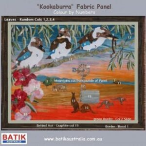 Fat-Quarter-KIT-Batik-Quilt-x-Number-KOOKABURRA-Patchwork-Quilting-Fabric-Sewing-111868910319