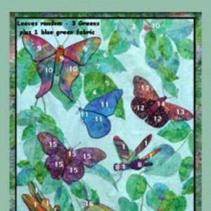 Fat-Quarter-KIT-Batik-Quiltx-Number-BUTTERFLIES-Patchwork-Quilting-Fabric-Sewing-161940568944